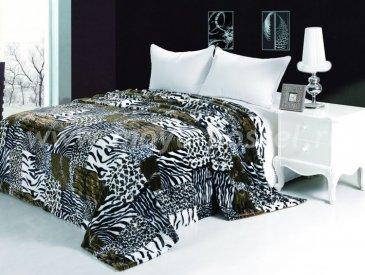 Меховое покрывало Сафари евро - интернет-магазин Моя постель