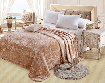 Плед Italian home 200x240, коричневый в каталоге интернет-магазина Моя постель