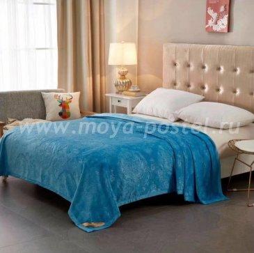 Плед Tango Brooklyn Термотеснение Евро, голубой в каталоге интернет-магазина Моя постель