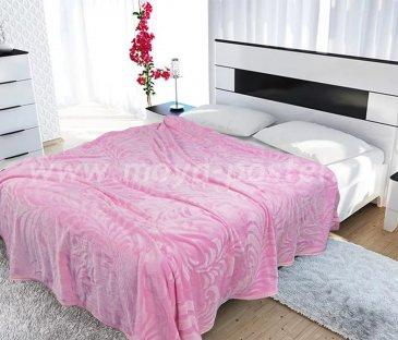 Плед Tango Brooklyn BRO1520-06  1,5-спальный, ярко-розовый в каталоге интернет-магазина Моя постель