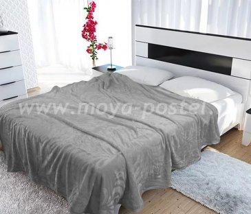 Плед Tango Brooklyn Термотеснение 1,5-спальный, серый в каталоге интернет-магазина Моя постель