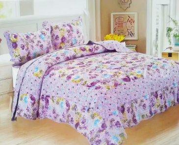 Покрывало Patchwork 333-156 с двумя наволочками, евро - интернет-магазин Моя постель
