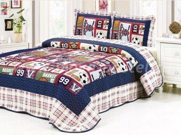 Покрывало Tango Patchwork PW1822-32 детский midi - интернет-магазин Моя постель