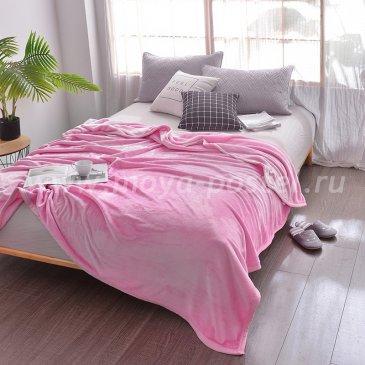 Плед Tango Allegria однотонный розовый, евро размер в каталоге интернет-магазина Моя постель