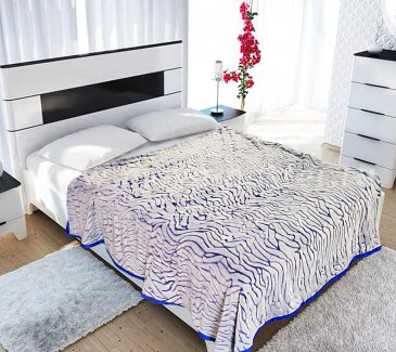 Плед микрофибра Tango Bicolor 3008-65 Евро в каталоге интернет-магазина Моя постель