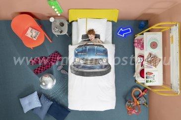 """Детское постельное белье """"Бамперные машинки"""" в интернет-магазине Моя постель"""