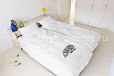 """Постельное белье """"Кошка Олли"""", полуторное в интернет-магазине Моя постель"""
