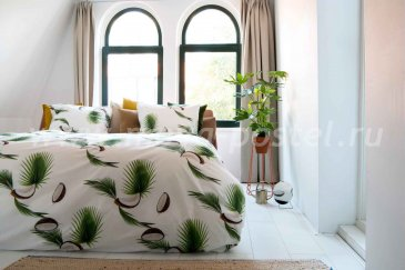"""Полуторное постельное белье """"Кокос"""" в интернет-магазине Моя постель"""