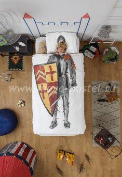 """Детское постельное белье """"Рыцарь"""", полуторное в интернет-магазине Моя постель"""
