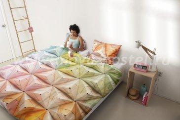 """Постельное белье """"Оригами"""", евро размер в интернет-магазине Моя постель"""