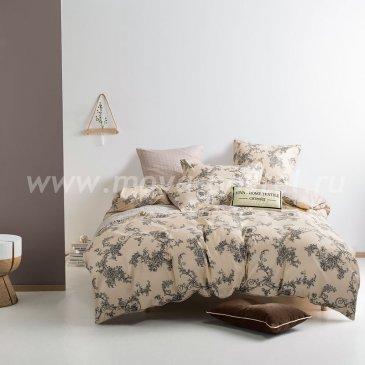Комплект постельного белья Сатин вышивка CNR047, семейный в интернет-магазине Моя постель