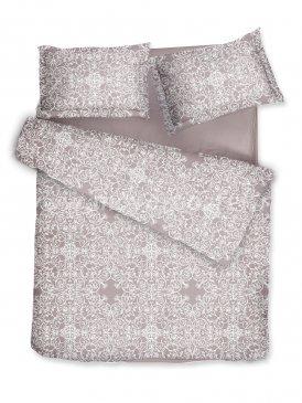Комплект постельного белья DecoFlux Сатин полуторный Versaille Mocha в интернет-магазине Моя постель