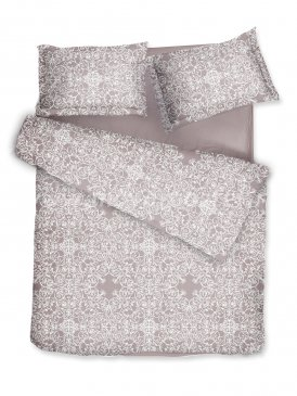 Комплект постельного белья DecoFlux Сатин Семейный Versaille Mocha в интернет-магазине Моя постель