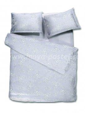 Комплект постельного белья DecoFlux Сатин полуторный Elizabeth Grey в интернет-магазине Моя постель