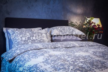 Комплект постельного белья DecoFlux Сатин полуторный Gobelin в интернет-магазине Моя постель