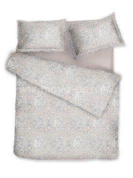 Комплект постельного белья DecoFlux Сатин полуторный Victoria Ivory в интернет-магазине Моя постель