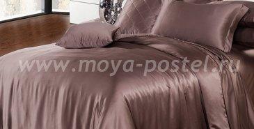 """Шелковый комплект """"Марсала"""", евро в интернет-магазине Моя постель"""