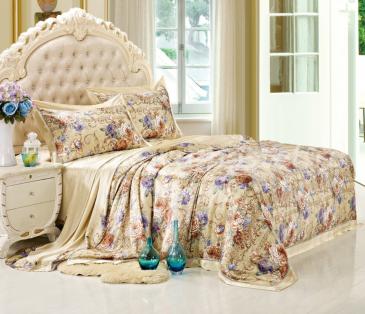 """Шелковый комплект """"Монпасье"""" (коллекция Couture home), евро в интернет-магазине Моя постель"""