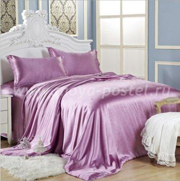 """Шелковый комплект """"Сиреневый"""", евро макси в интернет-магазине Моя постель"""