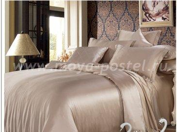 """Шелковый комплект """"Шармель"""" с простыней на резинке, евро в интернет-магазине Моя постель"""