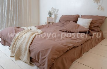 """Постельное белье """"Nude"""" Mocco, евро (50х70) в интернет-магазине Моя постель"""