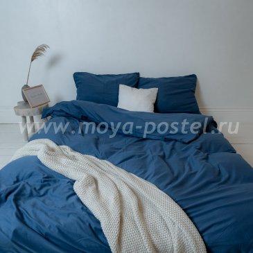 """Постельное белье """"Nude"""" Blue, евро (70х70) в интернет-магазине Моя постель"""