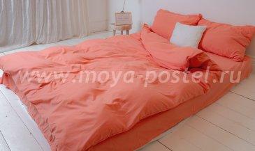 """Постельное белье """"Nude"""" Peach, двуспальное (50х70) в интернет-магазине Моя постель"""