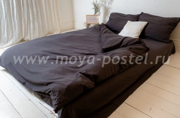 """Постельное белье """"Nude"""" Gray, полуторное (50х70) в интернет-магазине Моя постель"""