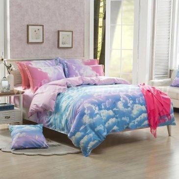 """Постельное белье Marshmallow Cloud коллекция """"Design"""", евро наволочки 50х70 в интернет-магазине Моя постель"""