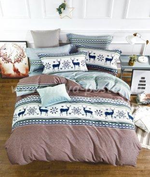 Кпб Фланель MOMAE84 Евро 2 наволочки в интернет-магазине Моя постель