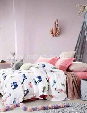 Кпб Фланель 1-MOMAE69 1,5-спальный 2 наволочки в интернет-магазине Моя постель
