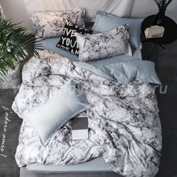 """Постельное белье Marble коллекция """"Modern"""", полуторное наволочки 50х70 в интернет-магазине Моя постель"""
