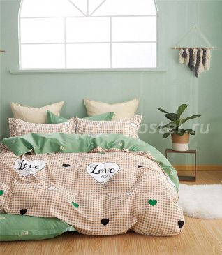 Постельное белье Twill TPIG6-1081 евро 4 наволочки в интернет-магазине Моя постель