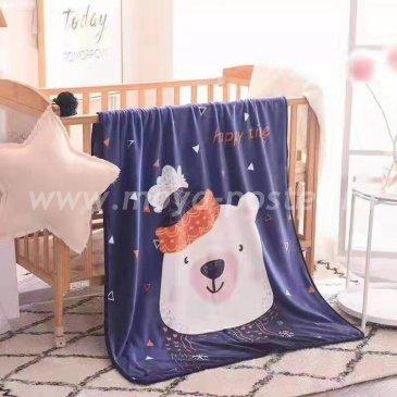 Плед детский фланелевый 100x140, ясли в каталоге интернет-магазина Моя постель