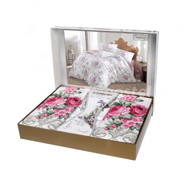"""Постельное белье """"RANFORCE"""" ULYA ( Eвро ) 50х70*2 шт в интернет-магазине Моя постель"""