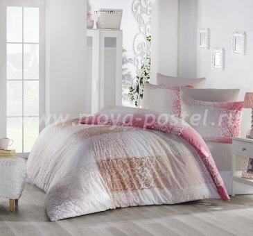 """Постельное белье """"RANFORCE"""" 1,5 сп 50х70*1 шт ELFIN розовый в интернет-магазине Моя постель"""