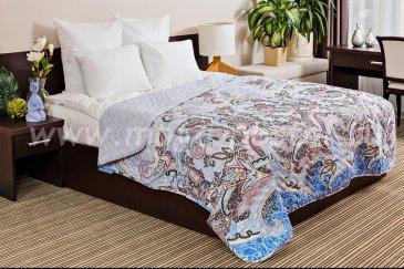 Покрывало  Ночь Нежна Восточные пряности (серый) Бязь, евро - интернет-магазин Моя постель