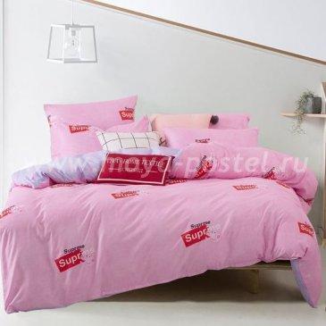 Постельное белье Модное на резинке CLR032 (двуспальное 160х200, наволочки 50х70) в интернет-магазине Моя постель