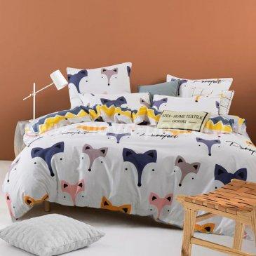 Постельное белье Модное на резинке CLR034, евро размер в интернет-магазине Моя постель