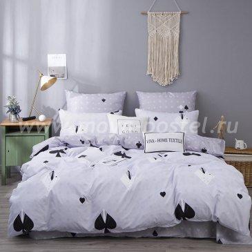 Постельное белье Модное на резинке CLR052 в интернет-магазине Моя постель