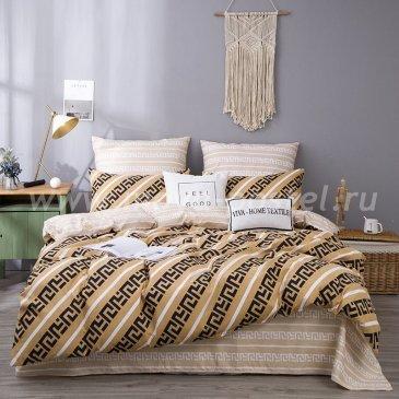Постельное белье Модное на резинке 180х200 CLR058, двуспальное в интернет-магазине Моя постель