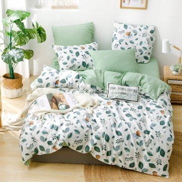 Комплект постельного белья Делюкс Сатин на резинке LR206 в интернет-магазине Моя постель