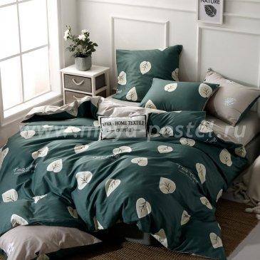 Комплект постельного белья Делюкс Сатин на резинке LR225 в интернет-магазине Моя постель