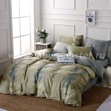 Комплект постельного белья Делюкс Сатин на резинке LR226 в интернет-магазине Моя постель
