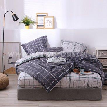 Комплект постельного белья Делюкс Сатин L214, полуторный в интернет-магазине Моя постель