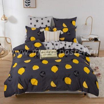 Постельное белье Модное на резинке CLR068 (двуспальное 140х200) в интернет-магазине Моя постель