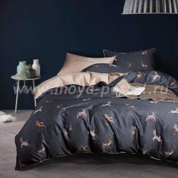 Комплект постельного белья Сатин Премиум CPA009, евро в интернет-магазине Моя постель