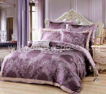 Комплект постельного белья жаккард с вышивкой H052 в интернет-магазине Моя постель