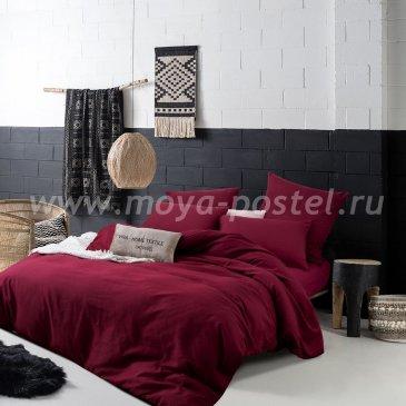 Комплект постельного белья однотонный Сатин CS022 (семейный) в интернет-магазине Моя постель