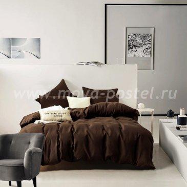 Комплект постельного белья однотонный Сатин CS029 (семейный) в интернет-магазине Моя постель